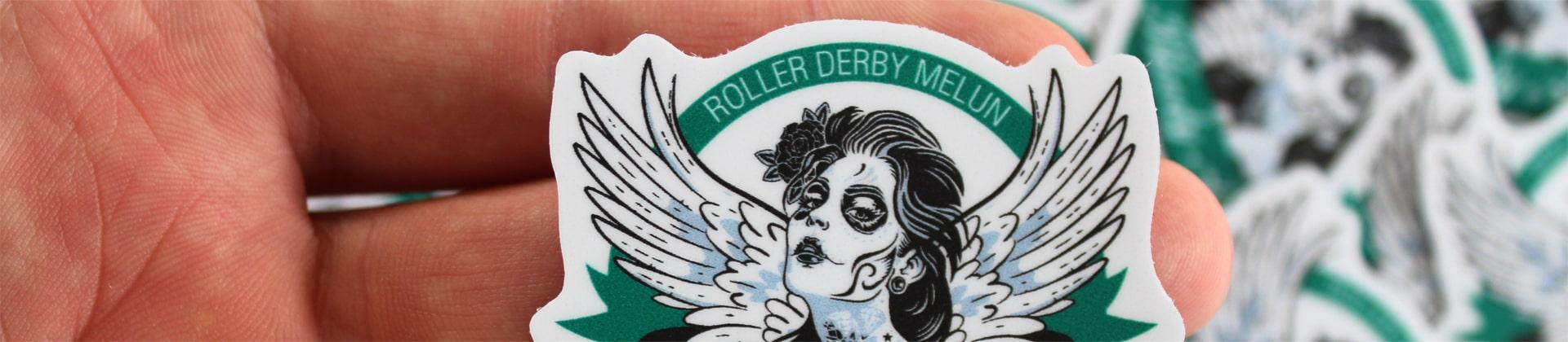 Shop high quality logo stickers for your association